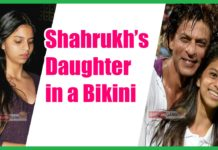 bikini shahrukh khan daughter