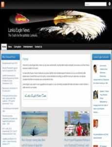 Lanka Eagle News Paper