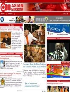Asian Mirror News Paper