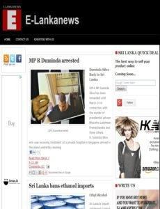 E-Lanka News Paper